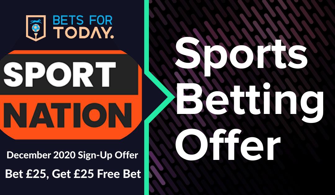 Sport Nation December 2020 Welcome Offer