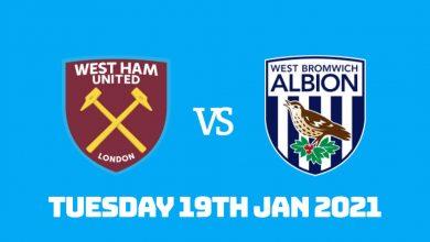 Betting Preview: West Ham vs West Bromwich Albion