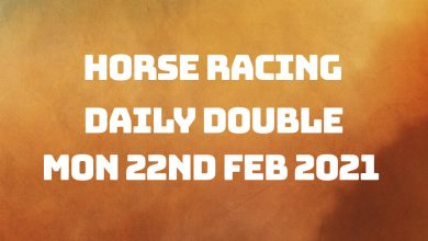 Daily Double - 22nd Feb 2021