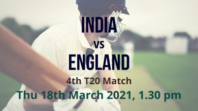 India vs England – 4th T20 Preview