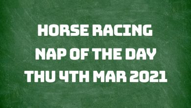 Nap of the Day - 4th Feb 2021