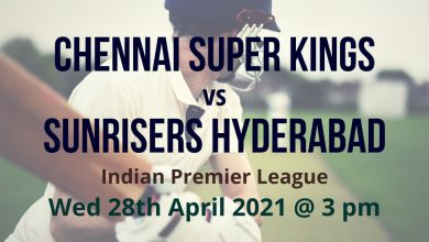 IPL Cricket Betting Preview: Chennai Super Kings v Sunrisers Hyderabad
