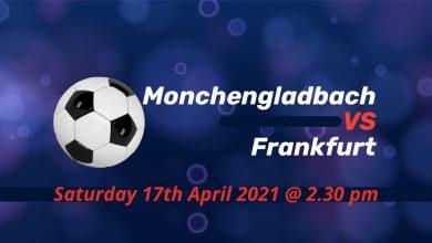 Betting Preview: Monchengladbach v Frankfurt