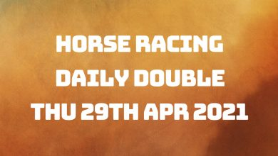 Daily Double - 29th April 2021