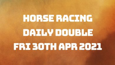 Daily Double - 30th April 2021