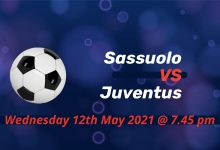 Betting Preview: Sassuolo v Juventus