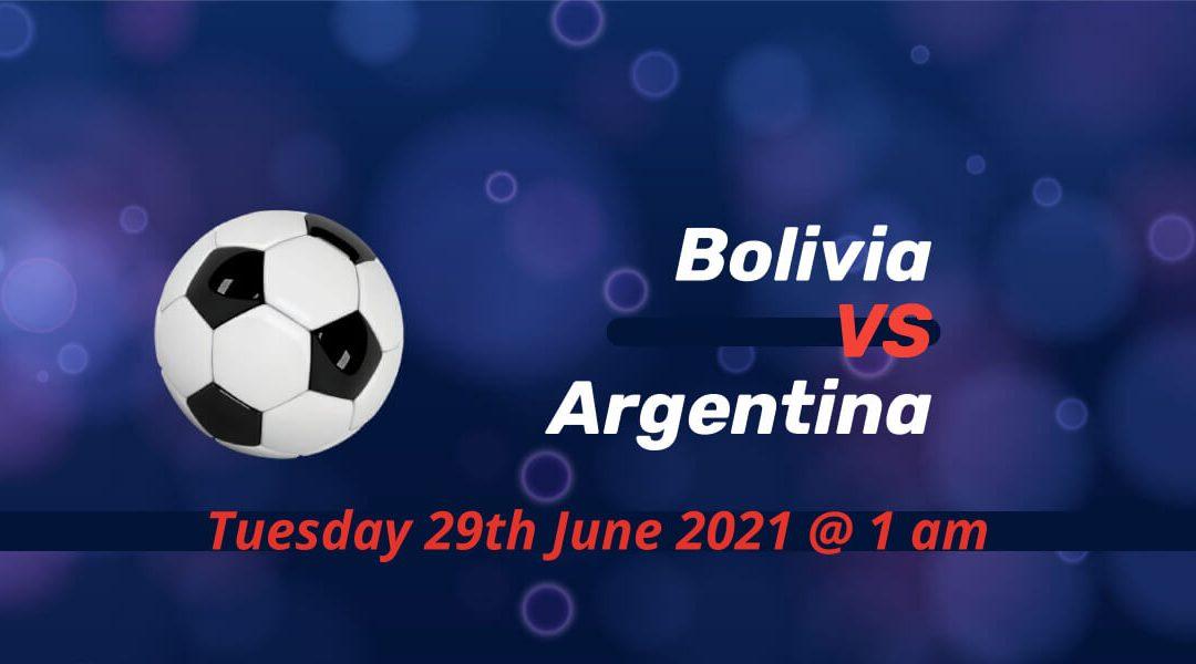 Betting Preview: Bolivia v Argentina Copa America 2021