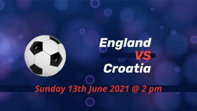 Betting Preview: England v Croatia EURO 2020