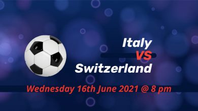 Betting Preview: Italy v Switzerland EURO 2020