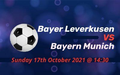Betting Preview: Bayer Leverkusen v Bayern Munich